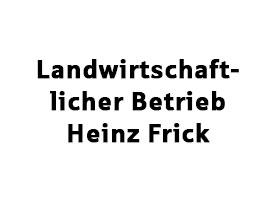 Landwirtschaftsbetrieb Heinz Frick