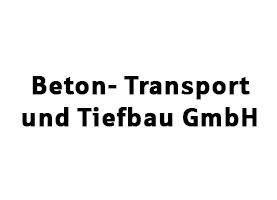 Beton-Transport und Tiefbau GmbH